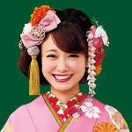 振袖・袴ヘアスタイルランキングNo.3-古典スタイル